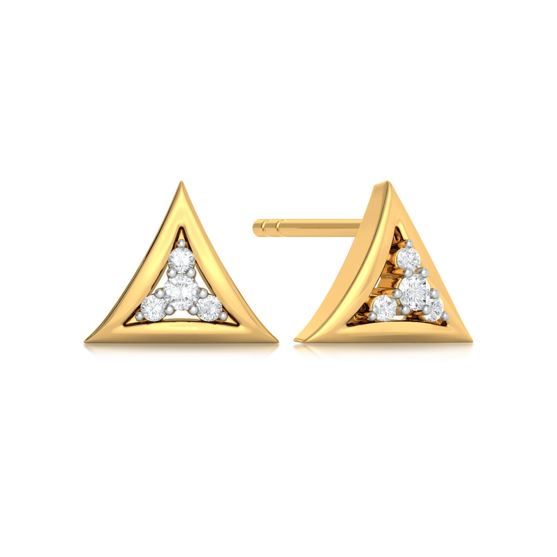 Doppelganger  Diamond Earrings