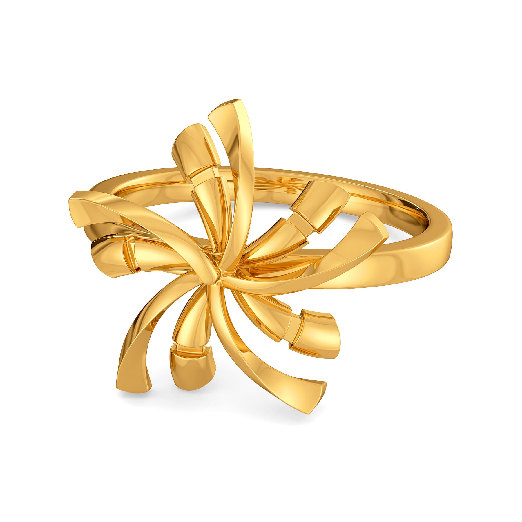 Disco Chic Gold Rings