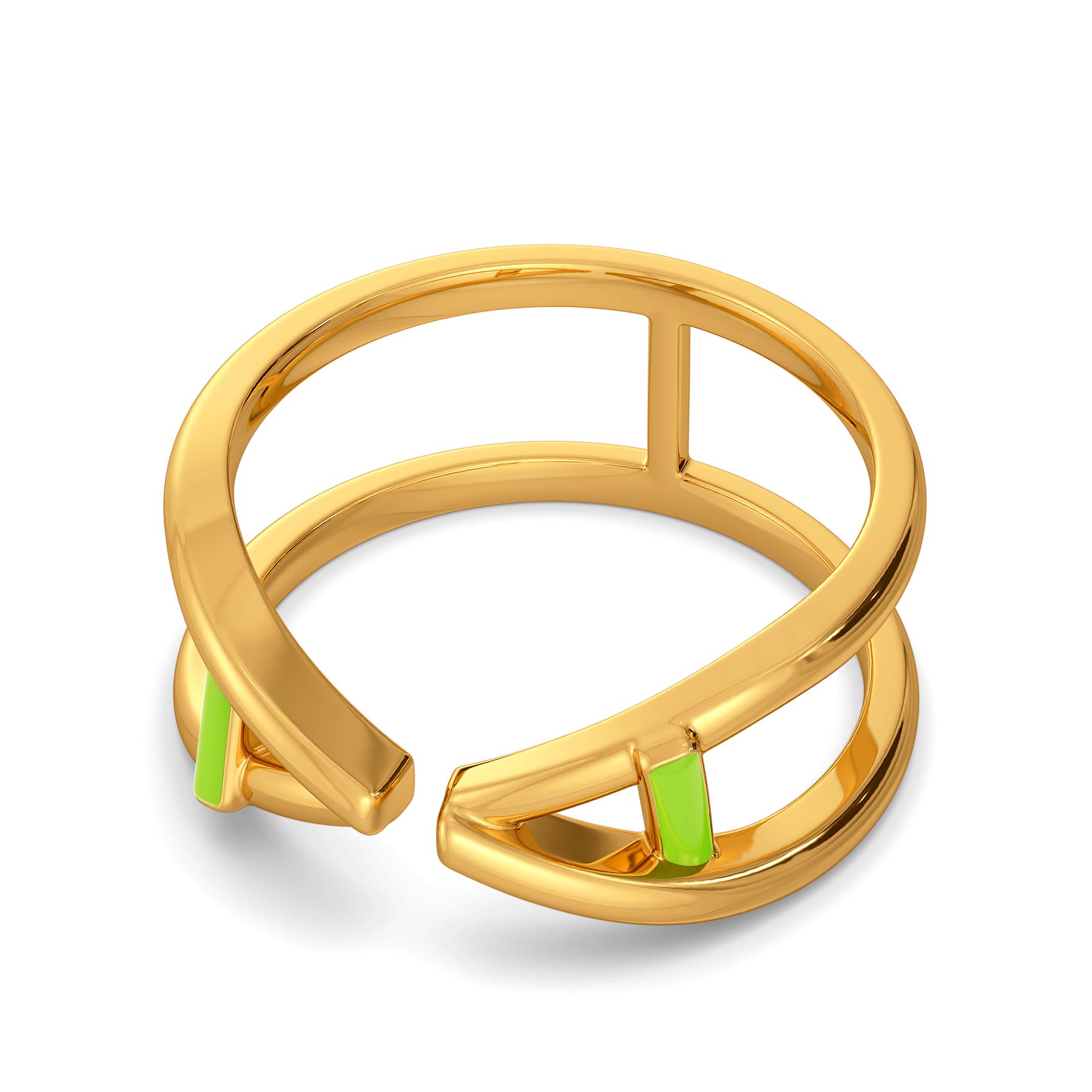 All Aboard Gold Rings