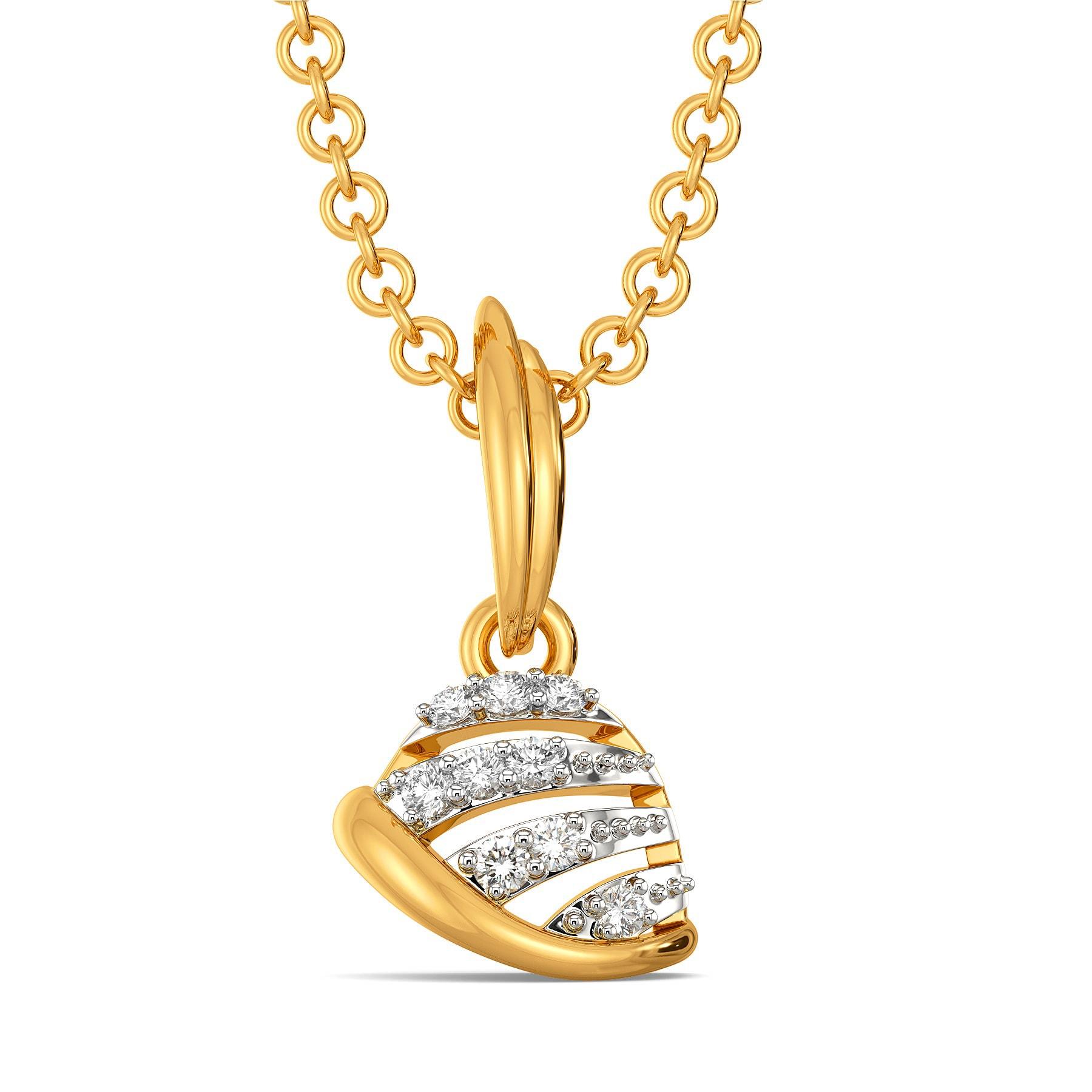 Blend in Beret Diamond Pendants