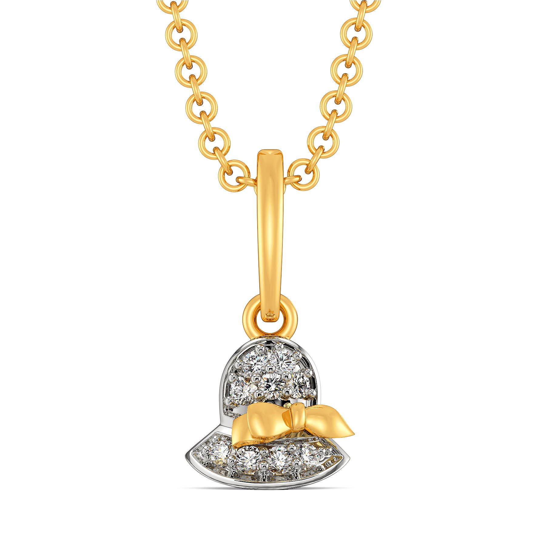Millinery Muse Diamond Pendants