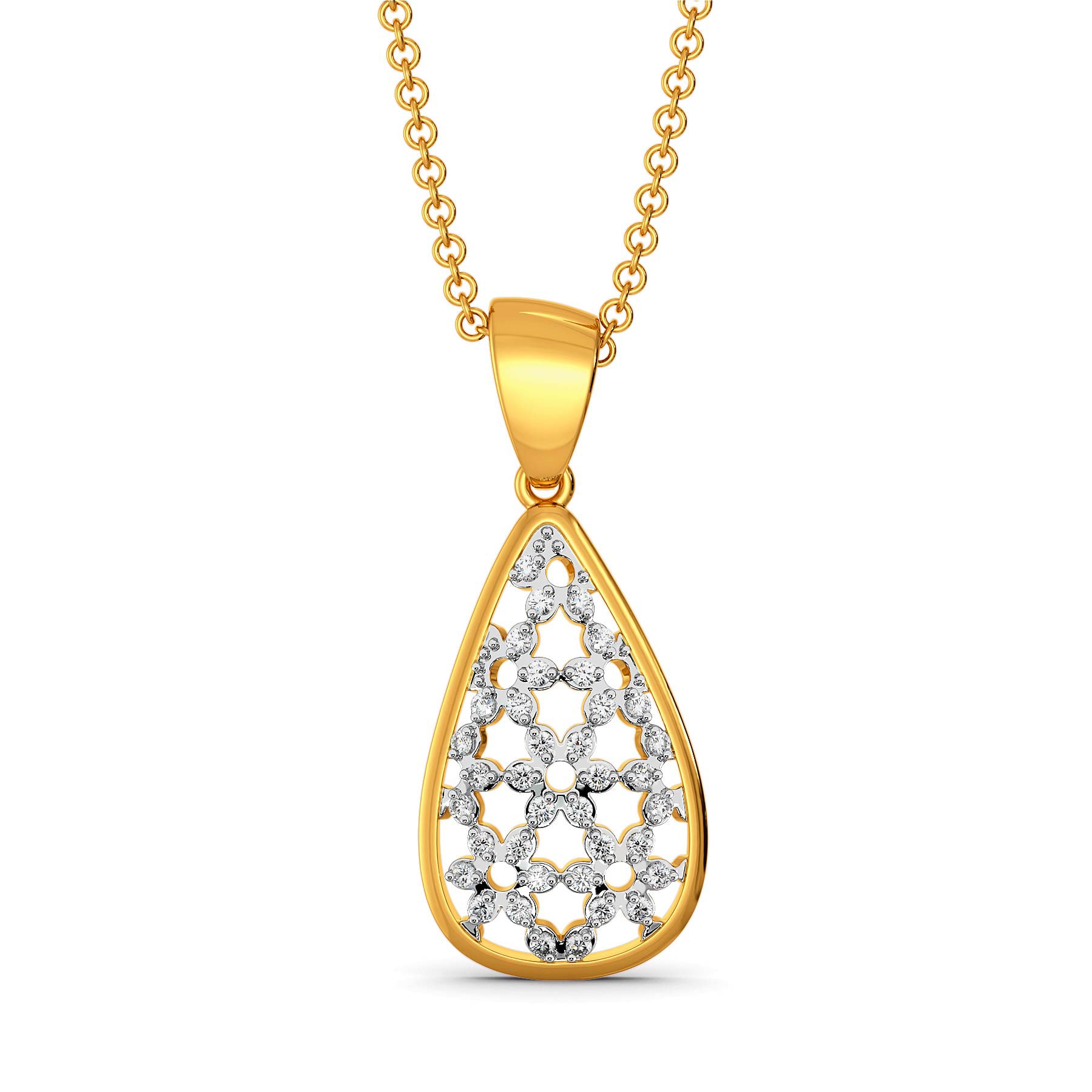 Lace Unlocked Diamond Pendants