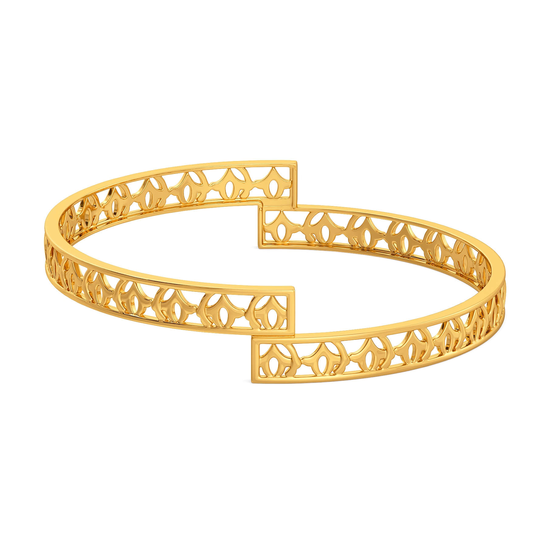 Collar Crowd Gold Bangles