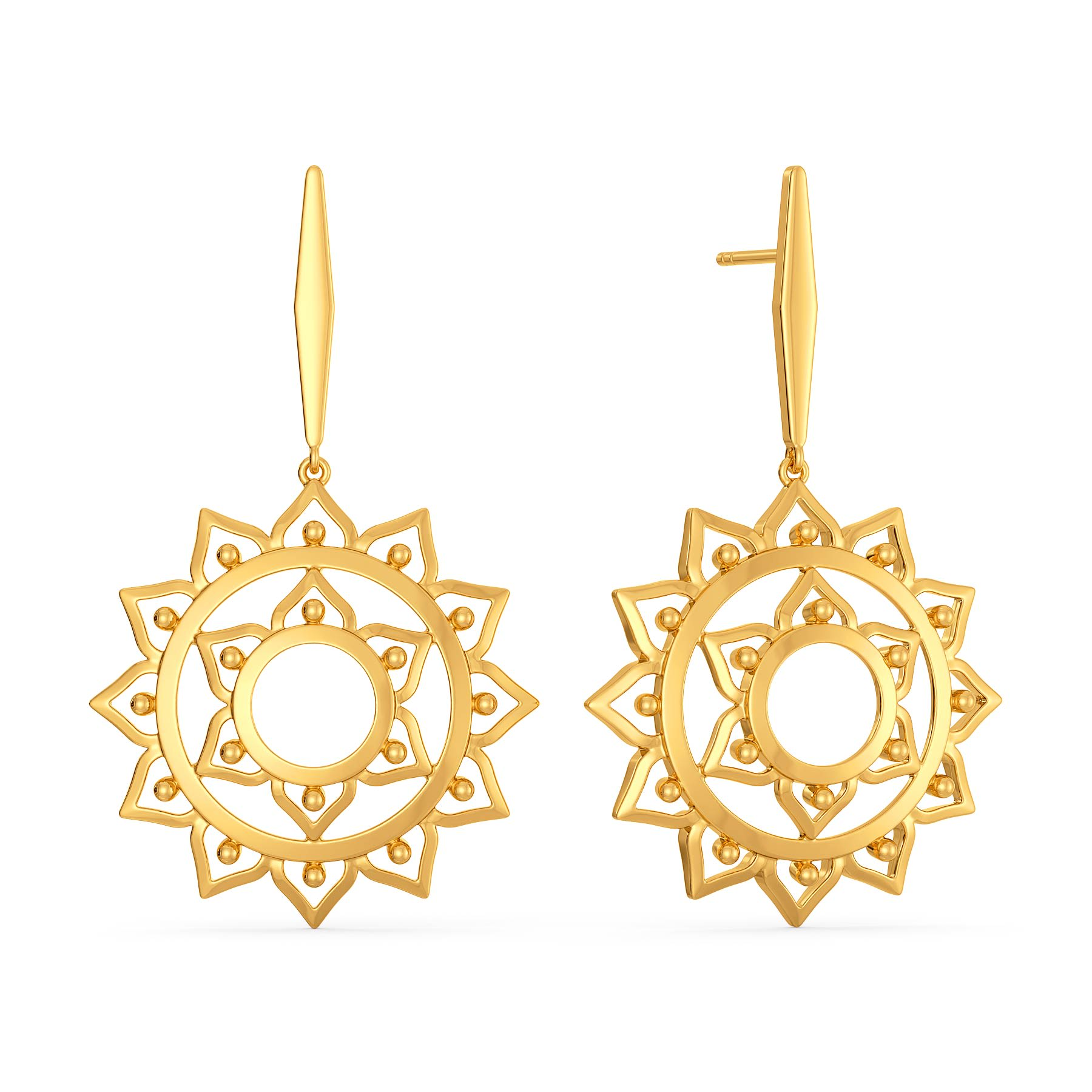 Bohemian Basics Gold Earrings