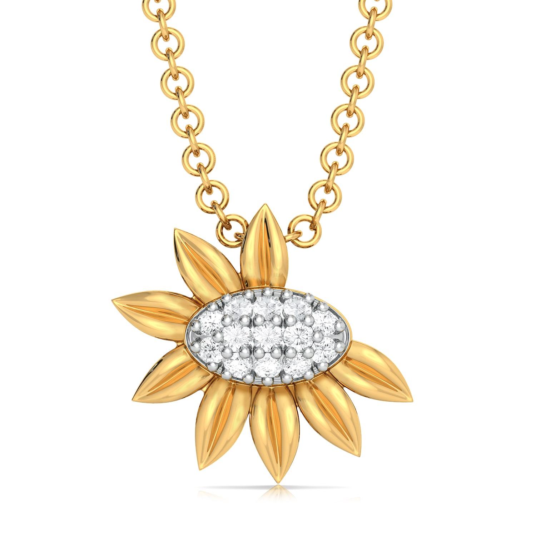 Sunny Shine Diamond Pendants