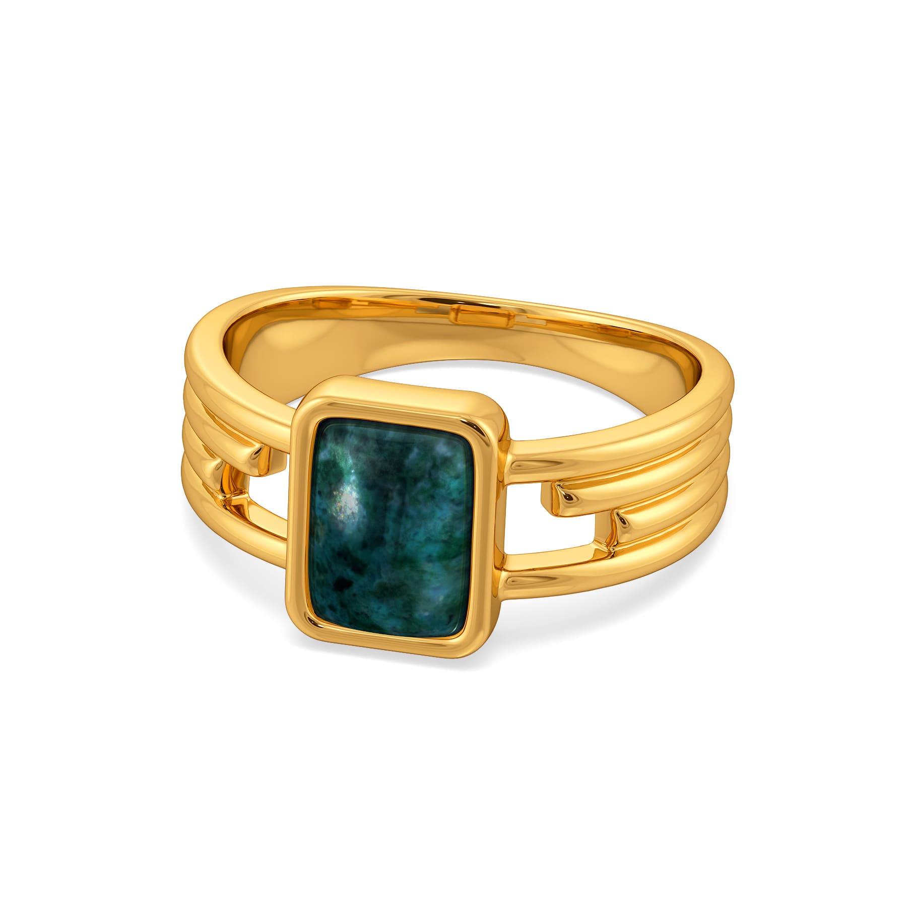 Hip N Dyed Gemstone Rings