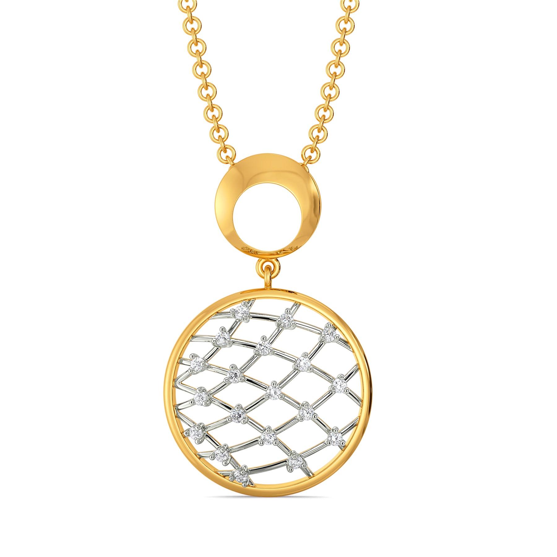 Crochet Nets Diamond Pendants