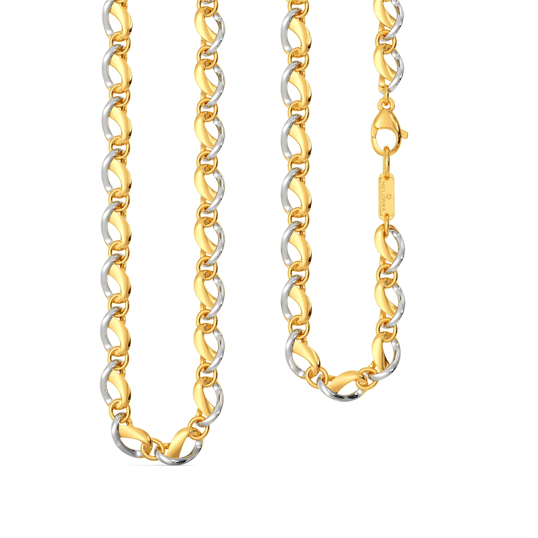 Kink A Wink Gold Chains