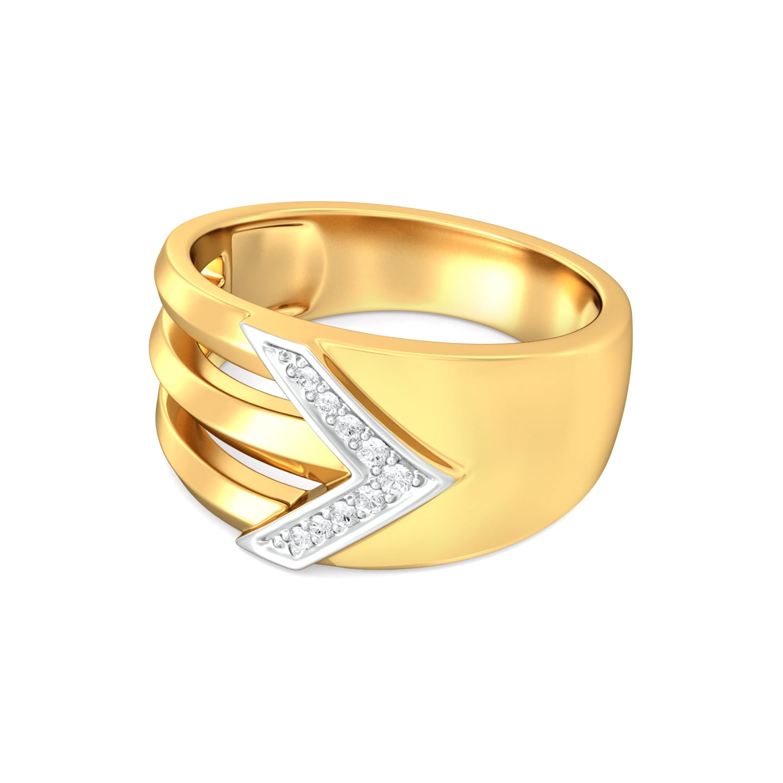 Akimbo Diamond Rings
