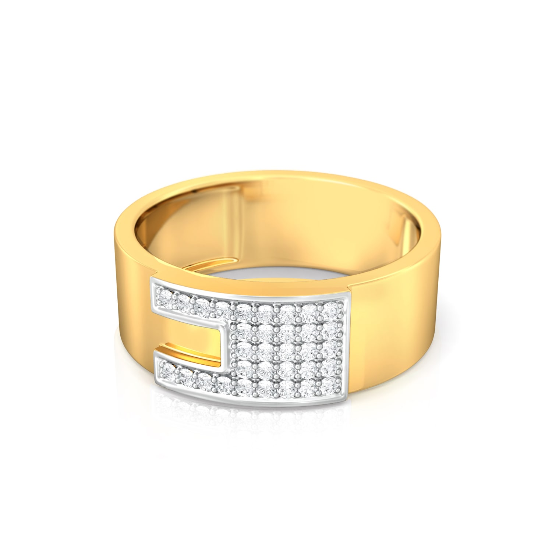 Jigsaw Diamond Rings