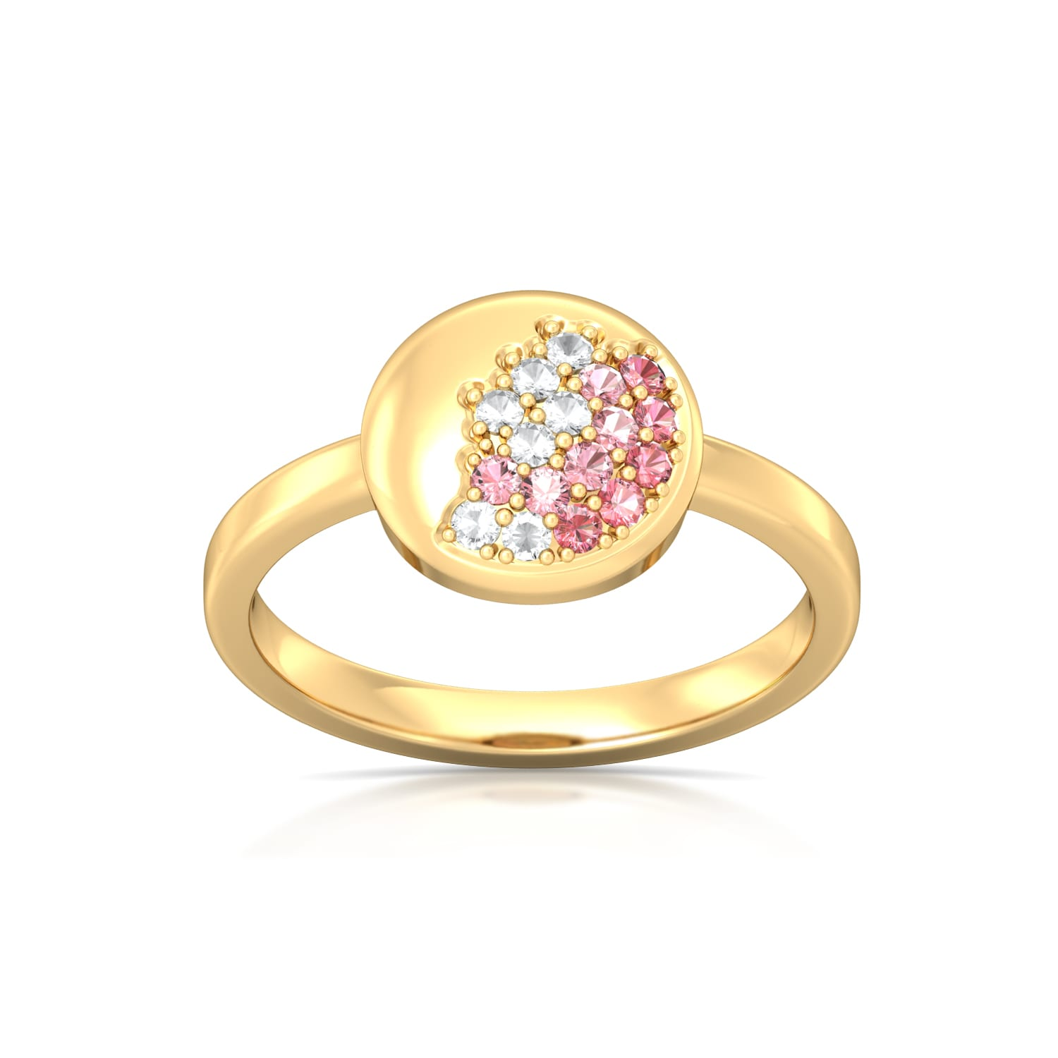 Pink Champagne Gemstone Rings