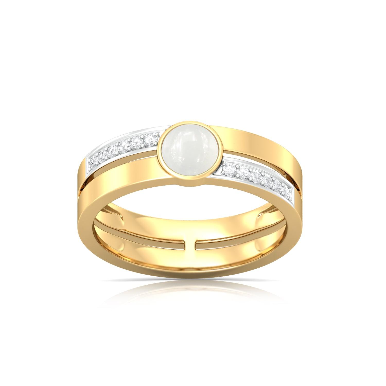 Light of Luna Diamond Rings