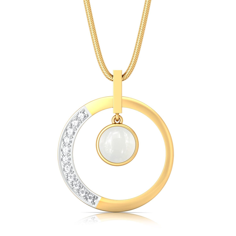 Light of Luna Diamond Pendants