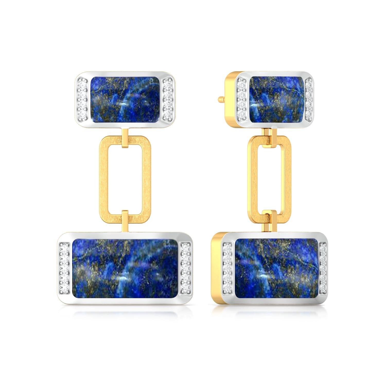 Dark & Stark Diamond Earrings