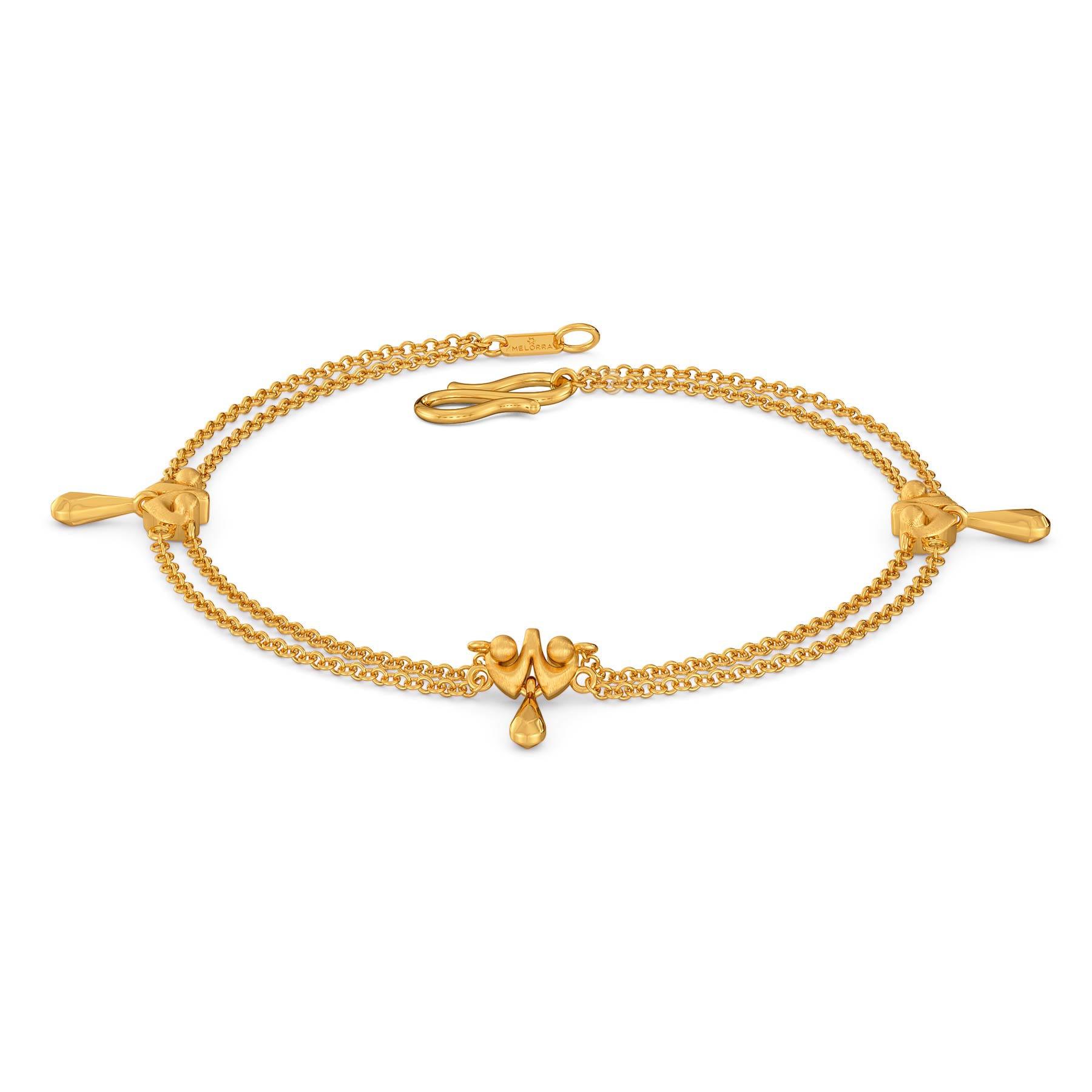 Doll Drama Gold Bracelets