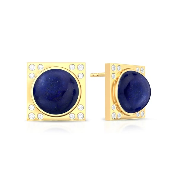 Blue Moon Rising Diamond Earrings