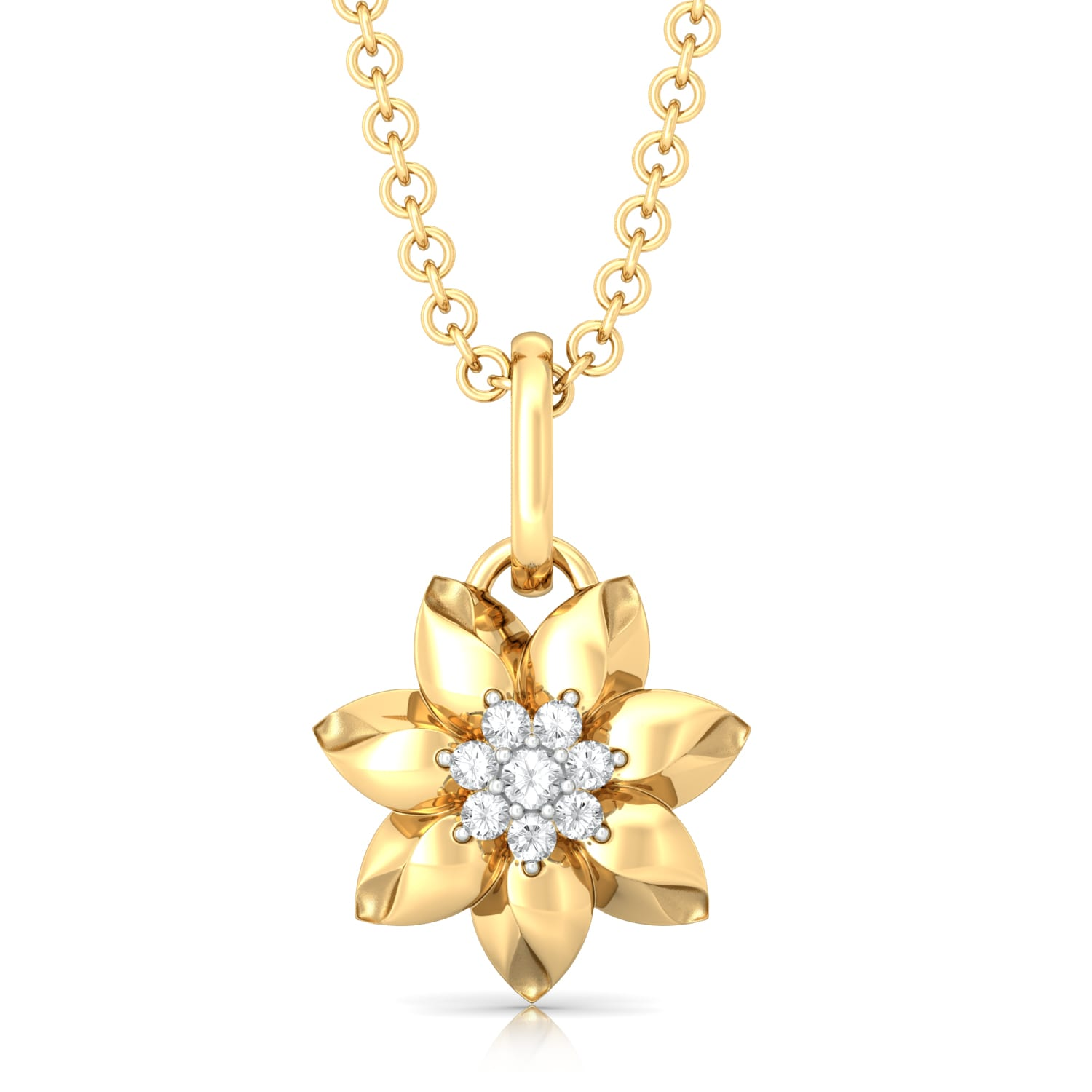 Lily Love Diamond Pendants