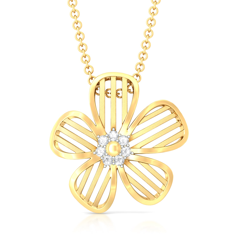 Daisy-Dee Diamond Pendants