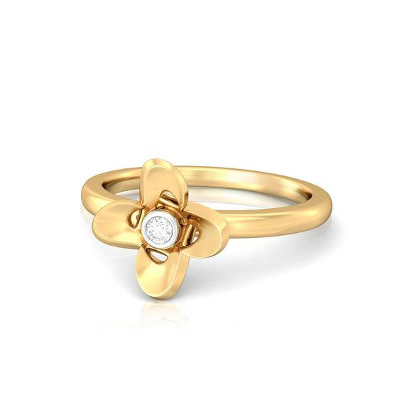 Everyday flora Diamond Rings