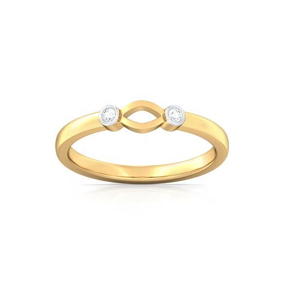 Petal to the Metal Diamond Rings