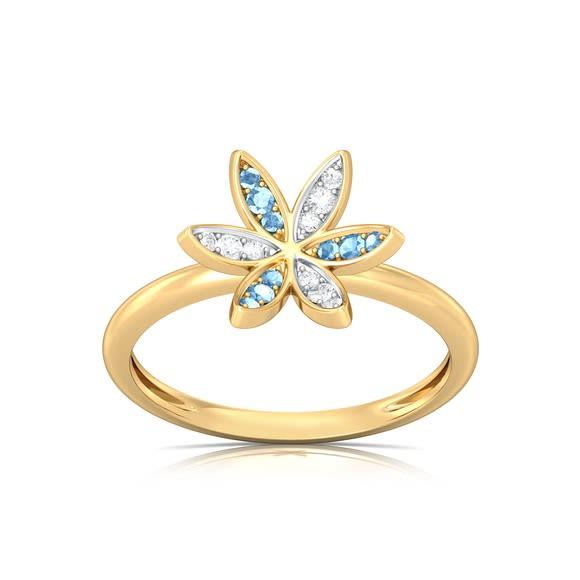 Flower Rush Diamond Rings
