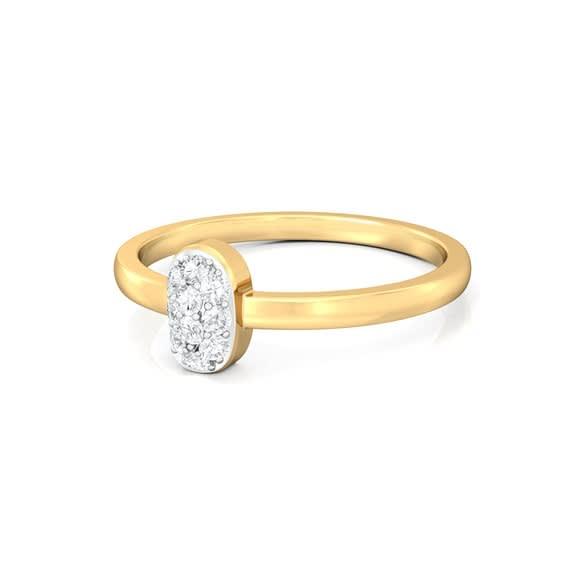 Bean gleam Diamond Rings