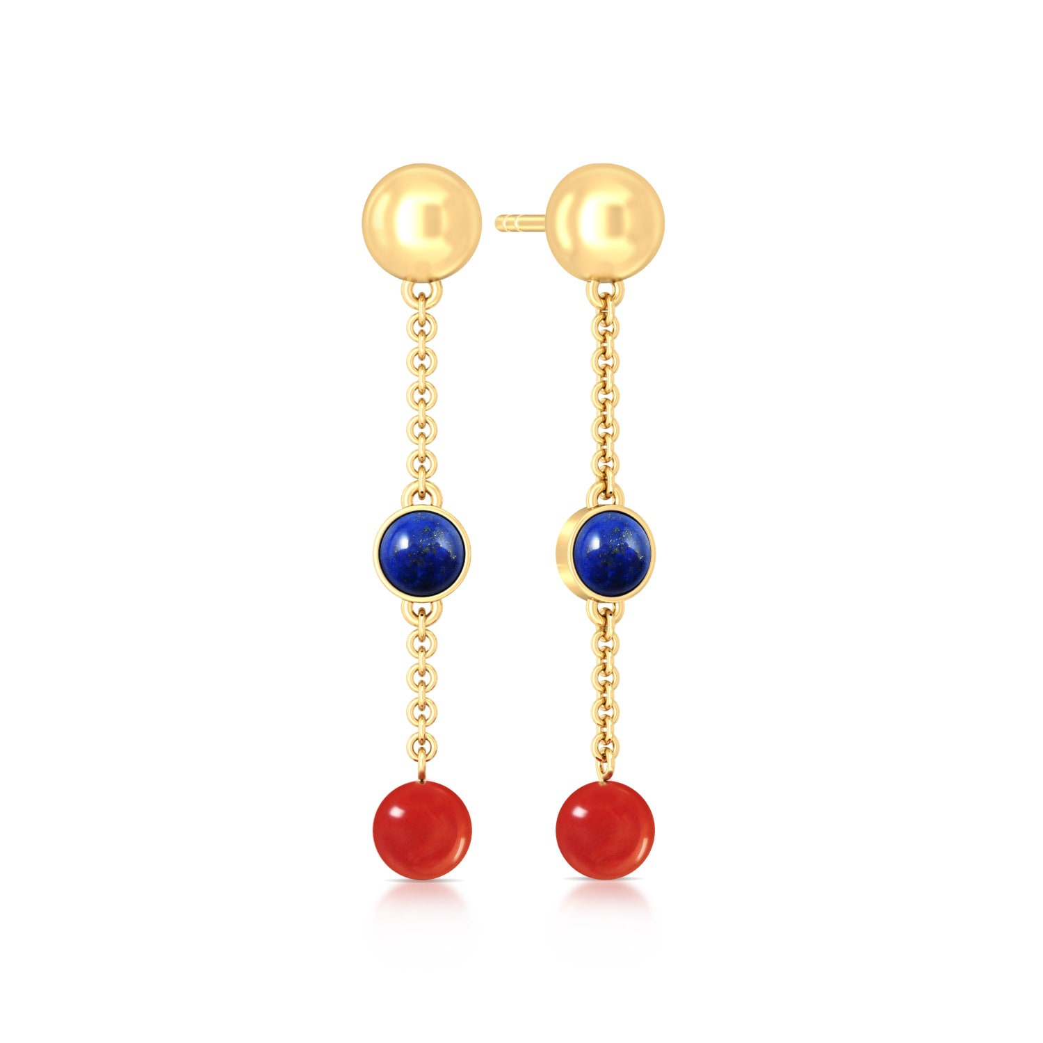 Nautical Colours Gemstone Earrings
