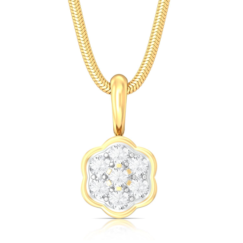 Celestia Diamond Pendants