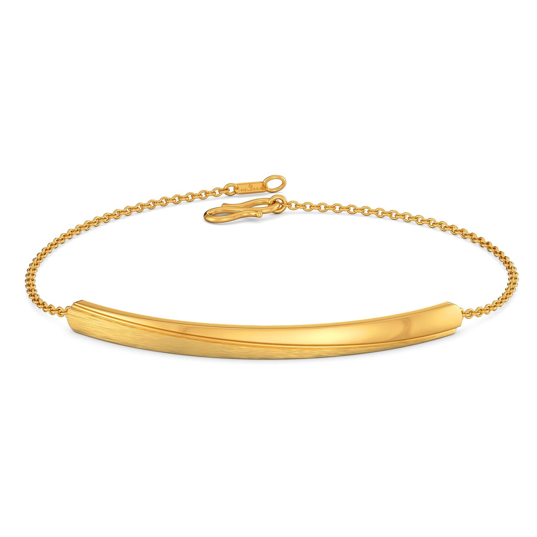 Sunshine yellow Gold Bracelets