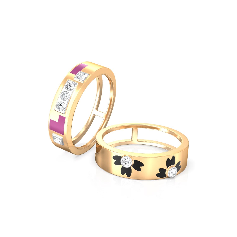 In contrast  Diamond Rings