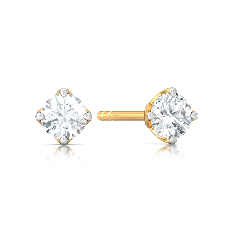 Ice, Ice Baby Diamond Earrings
