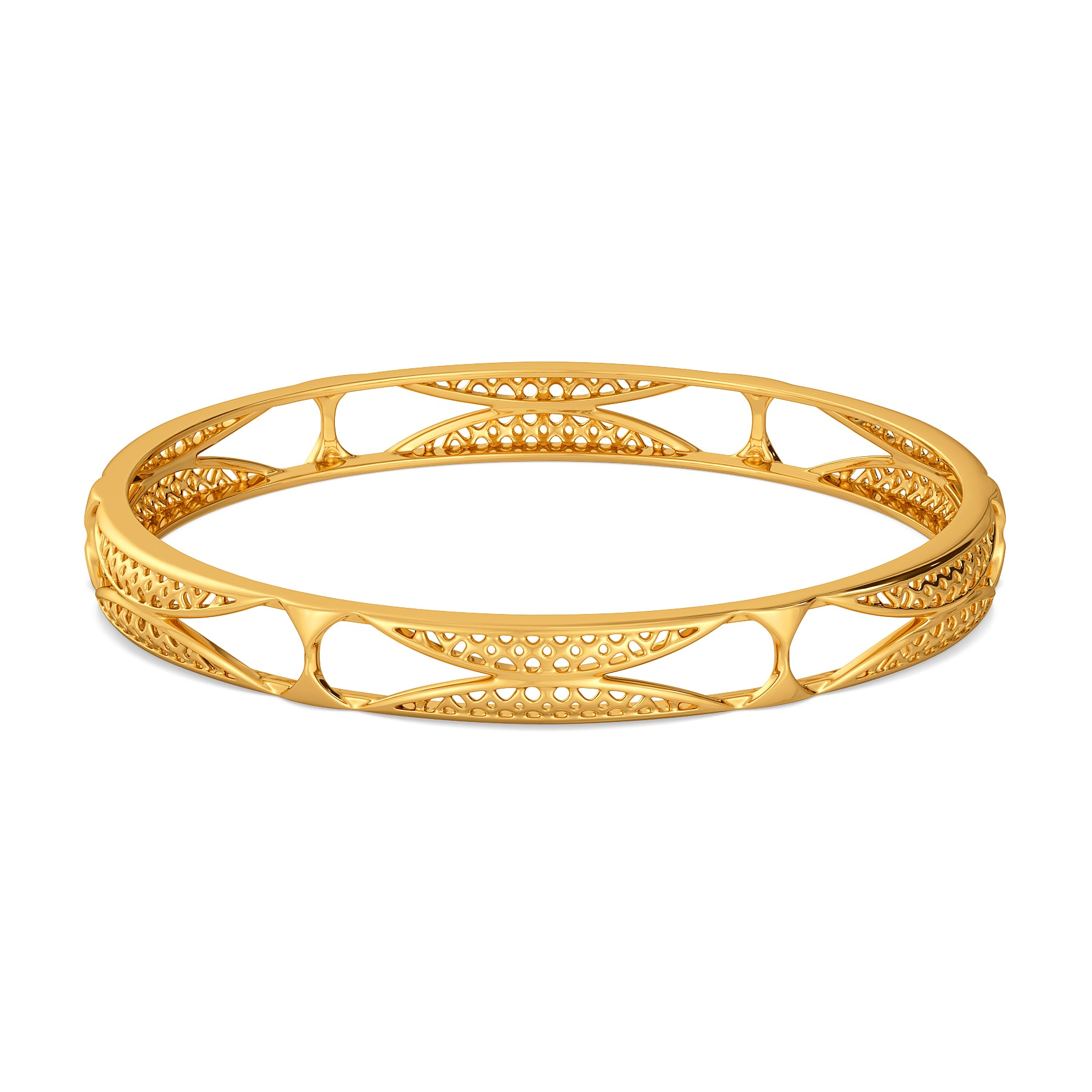 Totally Tulle Gold Bangles