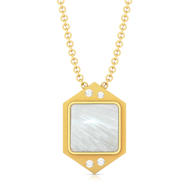 Icy White Diamond Pendants