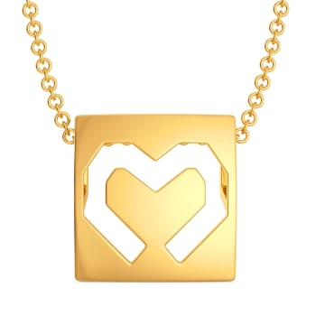 Flaunt Fondly Gold Pendants