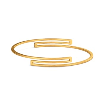 Glam Quotient Gold Bangles