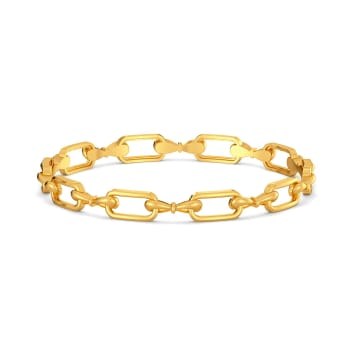 Bow Vow Gold Bangles