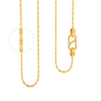 22kt Hexagonal chain Gold Chains