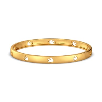 The Tropical Trivia Gold Bangles