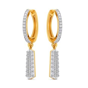 Hither Loops Diamond Earrings