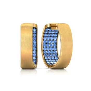 Peek-a-Blue Gemstone Earrings
