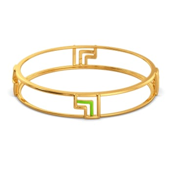 Love Pines Gold Bangles