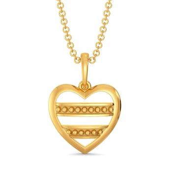 Club Love Gold Pendants