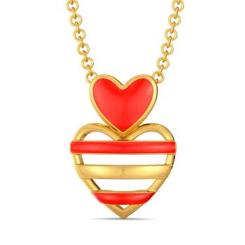 Scarlet Heart Gold Pendants