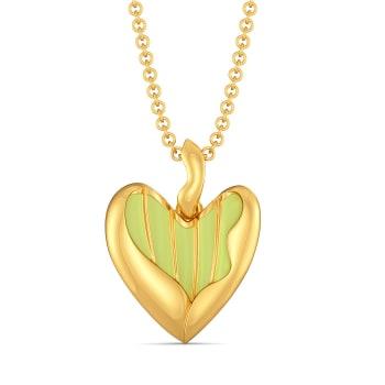 Love Buds Gold Pendants