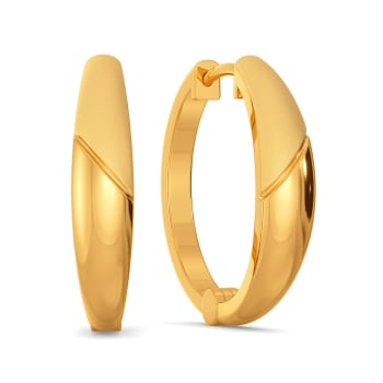 Subtle Staples Gold Earrings