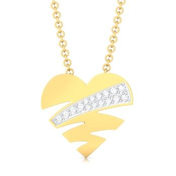 Love Struck Diamond Pendants
