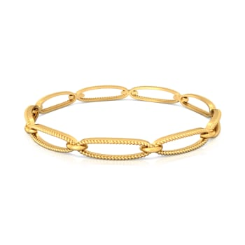 Ply oh so Fly Gold Bangles