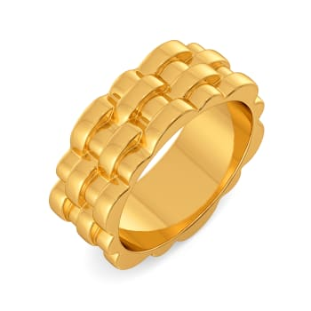 Twist N Twine Gold Rings