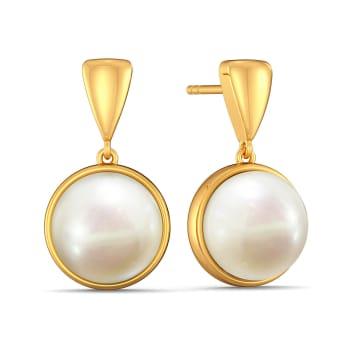 Playful Pearls Gemstone Earrings