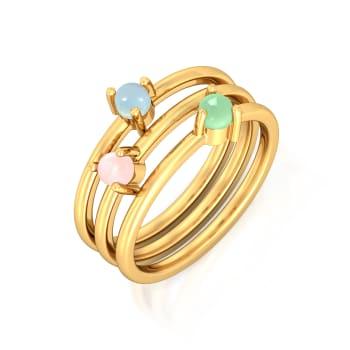 Tutti Frutti Sorbet Gemstone Rings